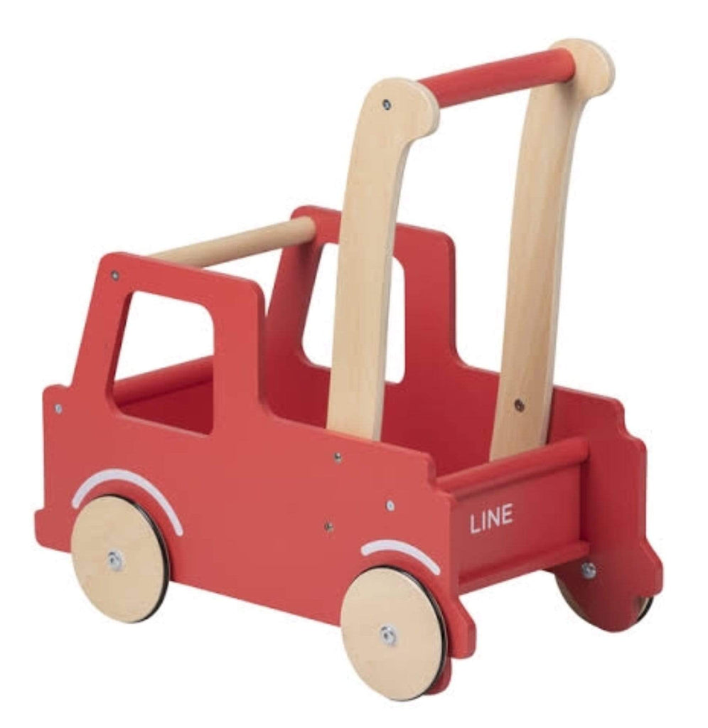Moover 12 Mths Plus Moover Line - Red Truck