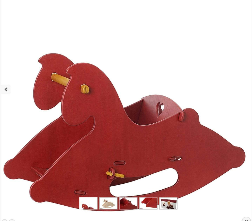Moover 12 Mths Plus Rocking Horse - Red