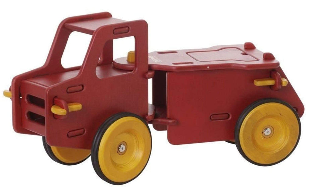 Moover 12 Mths to 2 Yrs Dump Truck - Solid Red