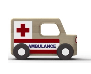 Moover 3 Plus Mini Cars - Ambulance