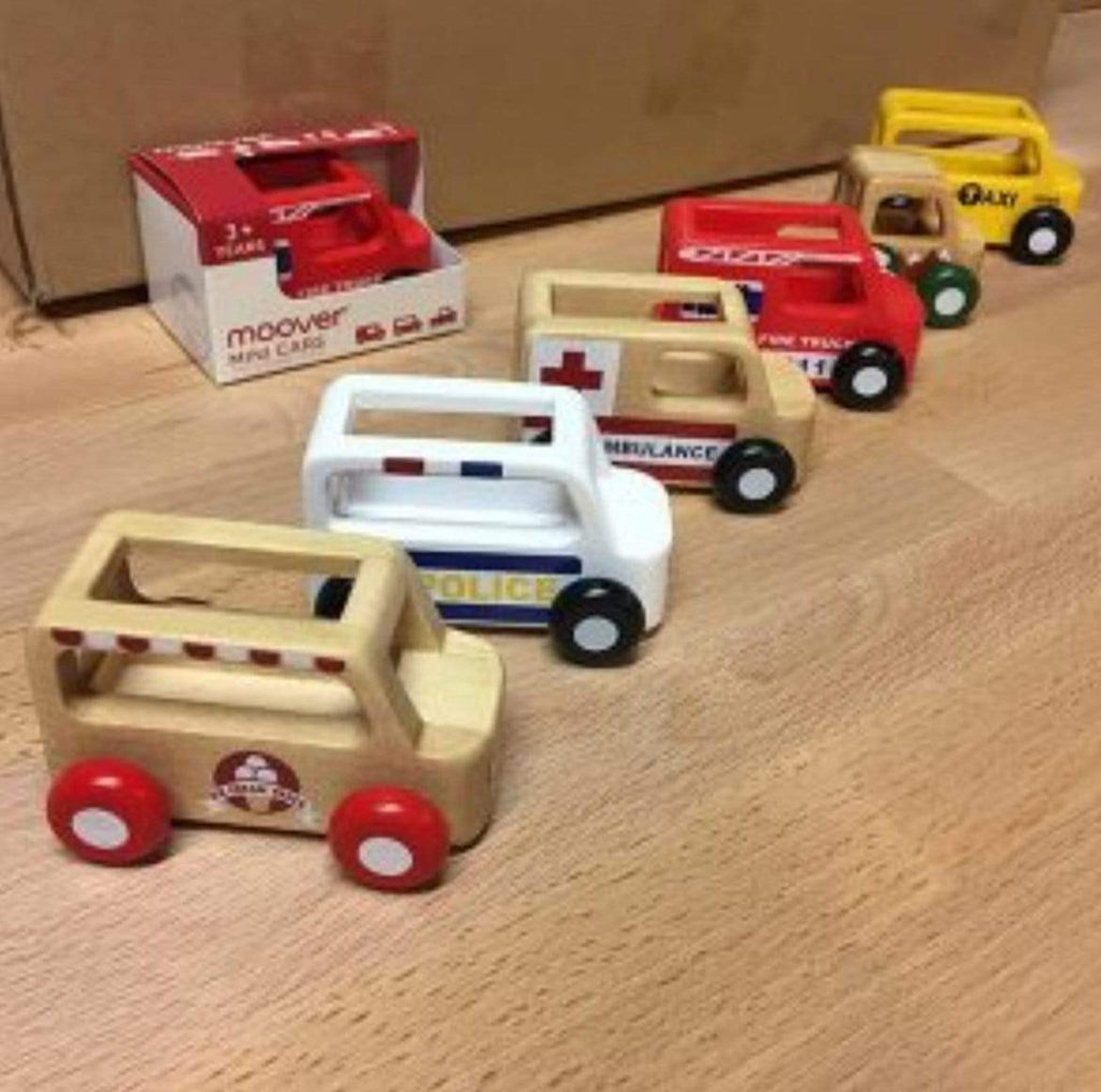 Moover 3 Plus Mini Cars - Police