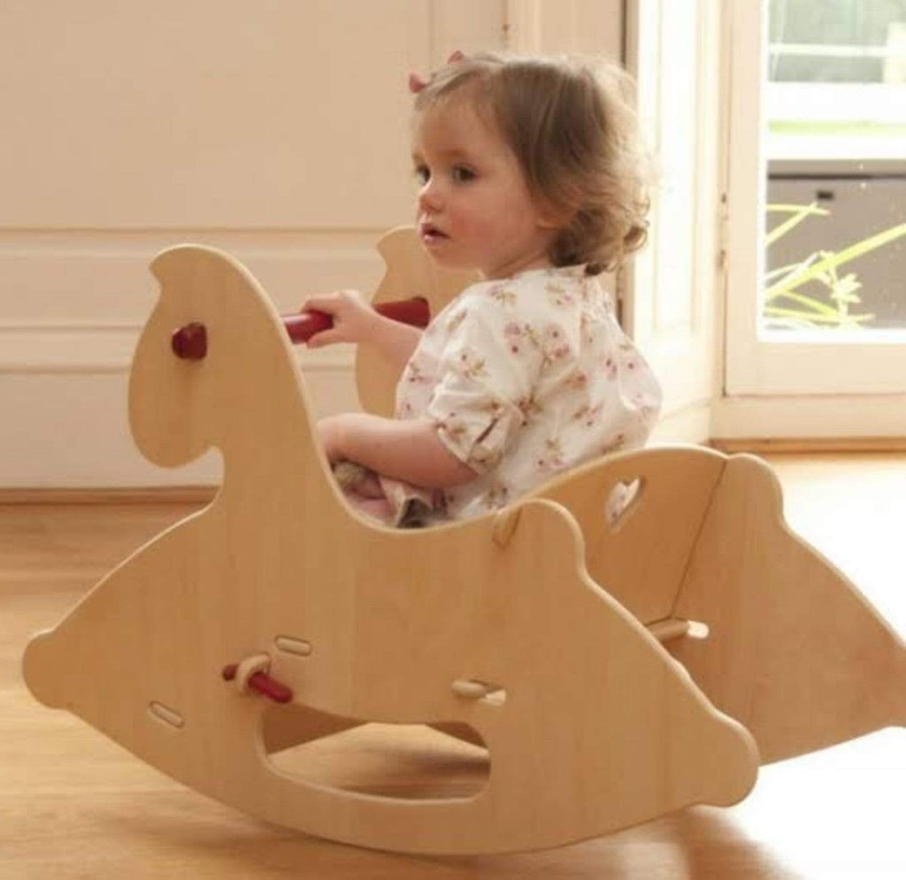 Moover Birth to 12 Months Rocking Horse - Natural