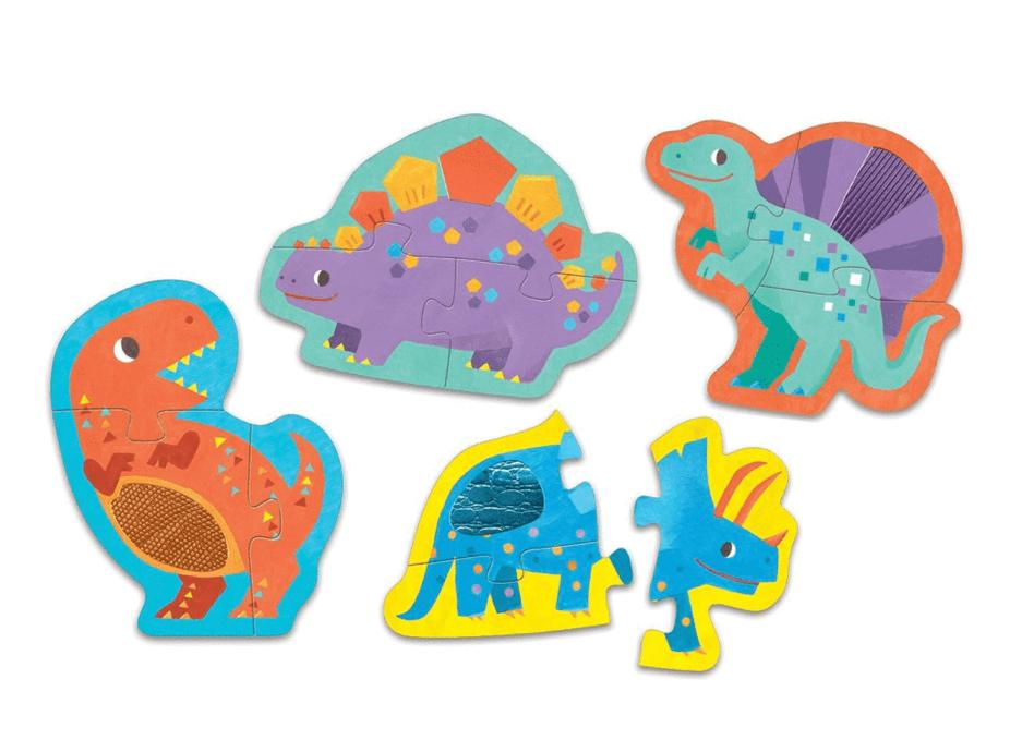 Mudpuppy 12 Mths Plus Touch & Feel  Puzzle - Dinosaurs