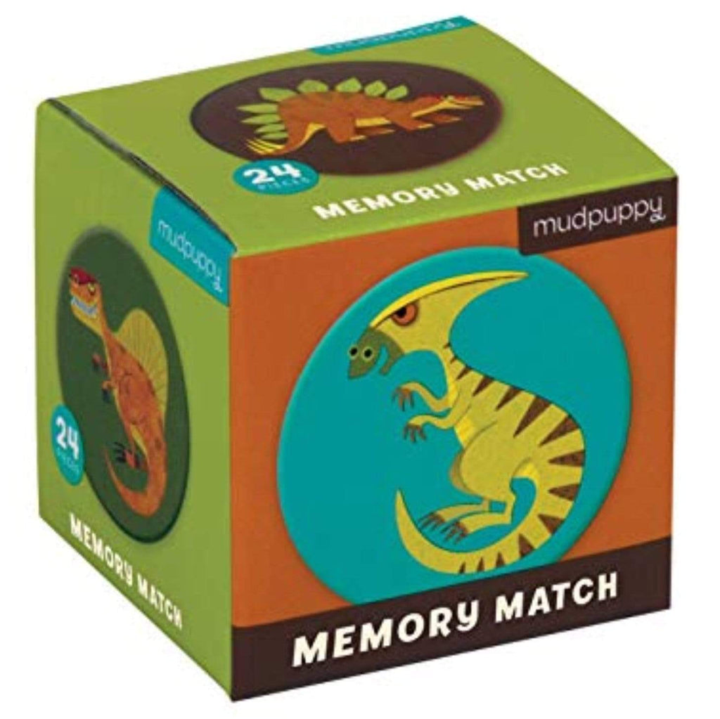 Mudpuppy 3 Plus Mini Memory Match - Dinosaur