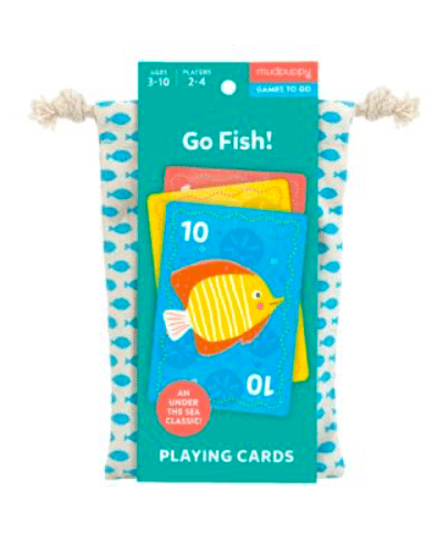 Mudpuppy 3 Plus Playing Cards - Go Fish!