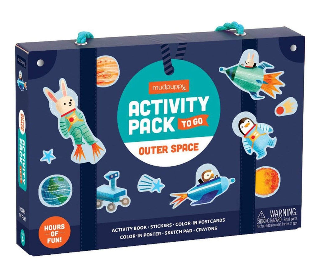 Mudpuppy 4 Plus Activity Pack To Go - Outer Space