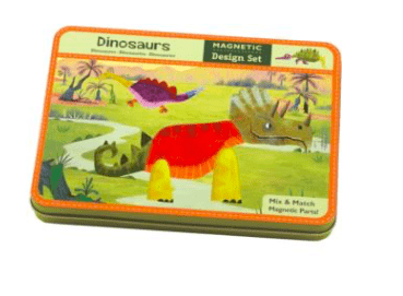 Mudpuppy 4 Plus Magnetic Design Dinosaur