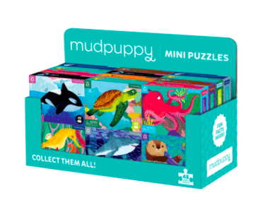 Mudpuppy 6 Plus 48 Pc Mini Puzzle