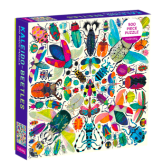 Mudpuppy 8 Plus 500 Pc Puzzle - Kaleido Beetles