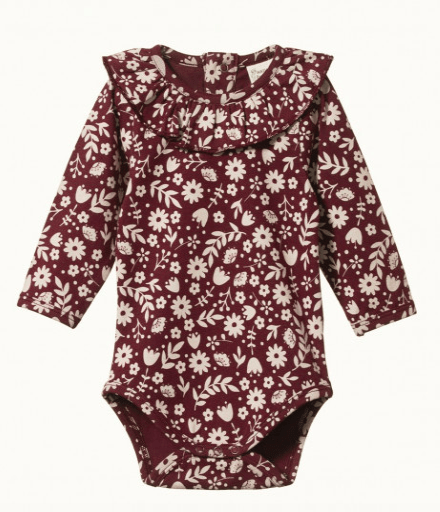 Nature Baby 0-3 Months to 1 Yr 6-12M / JG Elderberry Primrose Bodysuit