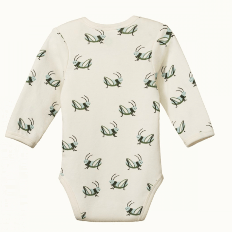 Nature Baby 0-3 Months to 1 Yr Long Sleeved Bodysuit SS20/21