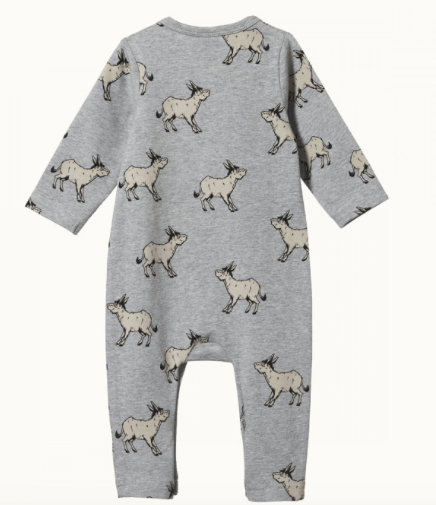 Nature Baby 0-3 Months to 1 Yr Long Sleeved Romper