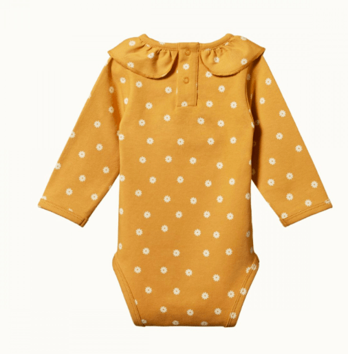 Nature Baby 0-3 Months to 1 Yr Primrose Bodysuit
