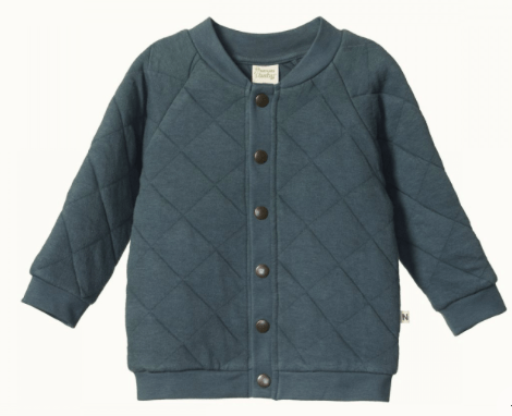 Nature Baby 6 - 12 Months to 4 Years Valley Blue / 6-12M Barber Jacket