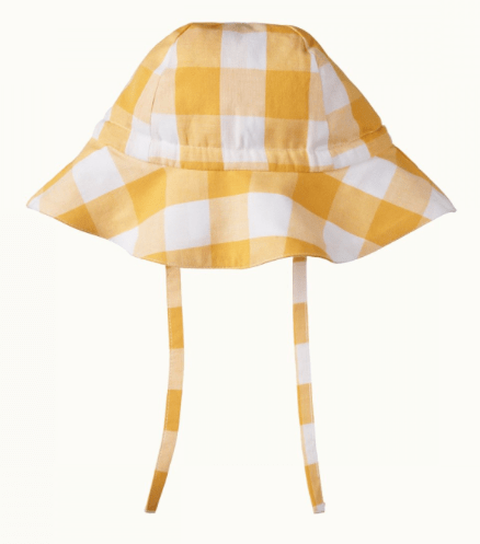 Nature Baby Small, Medium, Large Gingham Sunhat