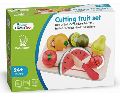 New Classic Toys 2 Plus Cutting Fruit