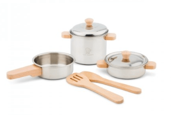 New Classic Toys 2 Plus Metal Pan Set