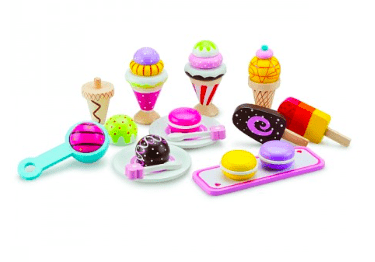New Classic Toys 3 Plus Gourmet Ice Cream Set