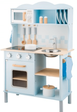 New Classic Toys 3 Plus KItchenette - Blue