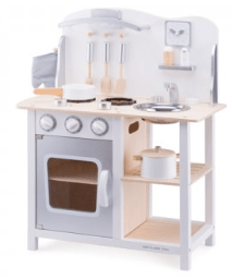 New Classic Toys 3 Plus Kitchenette - White