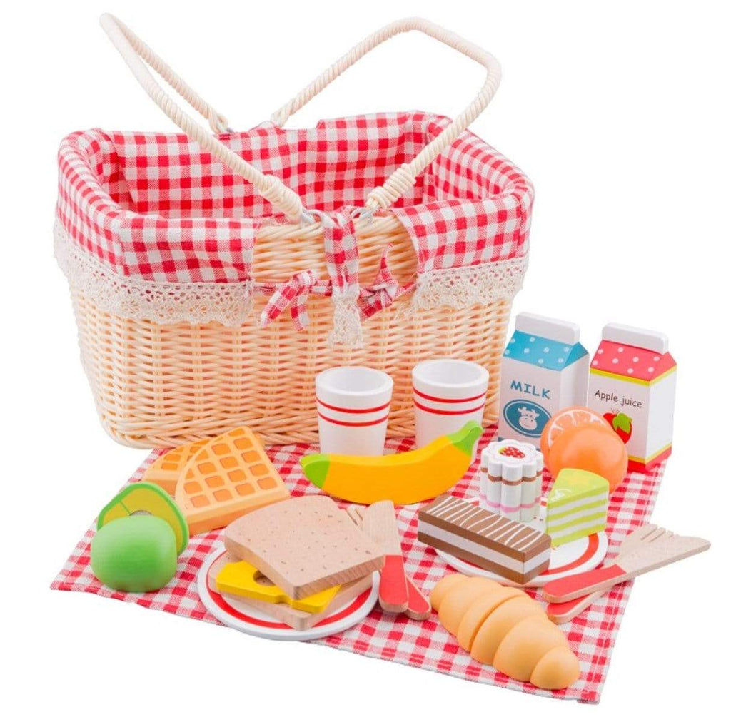 New Classic Toys 3 Plus Picnic Basket Set