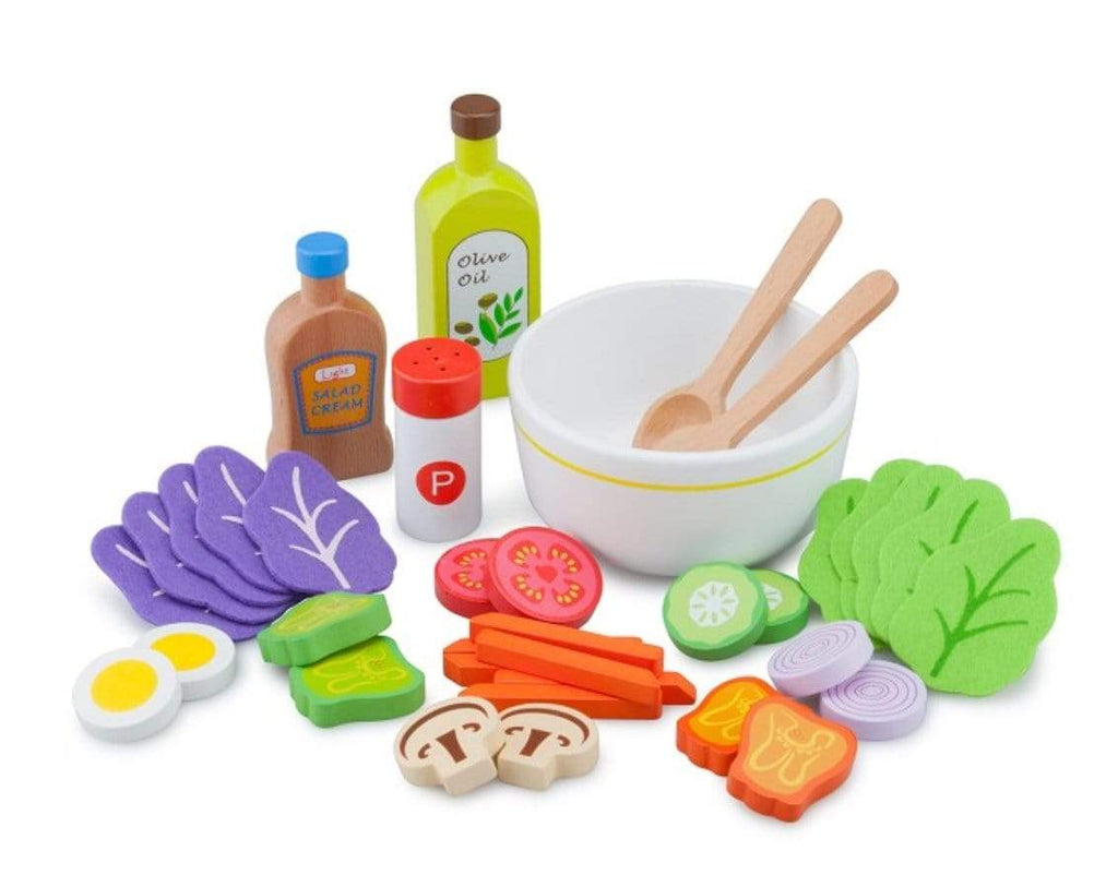 New Classic Toys 3 Plus Salad Set