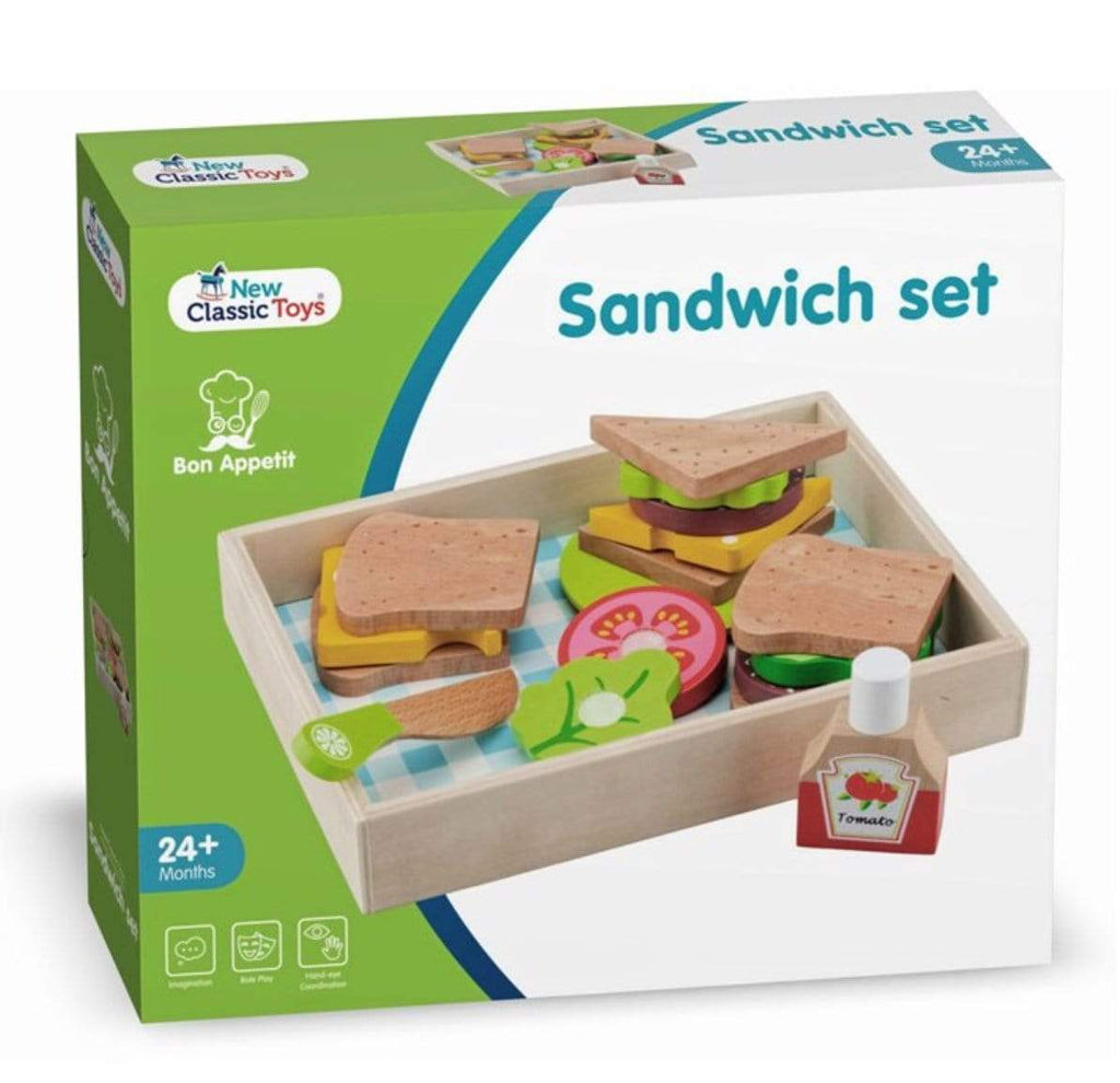 New Classic Toys 3 Plus Sandwich Set