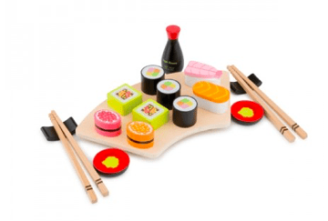 New Classic Toys 3 Plus Sushi Set