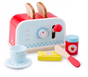 New Classic Toys 3 Plus Toaster Set