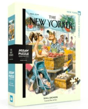 New York Puzzle Company 10 Plus 1000 Pc Puzzle - Small Growers