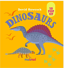 Nuinui Child NF 2 Plus 10 Pop Up Dinosaurs - David Hawcock