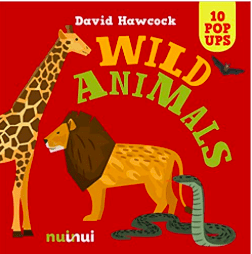 Nuinui Child NF 2 Plus 10 Pop Up Wild Animals - David Hawcock