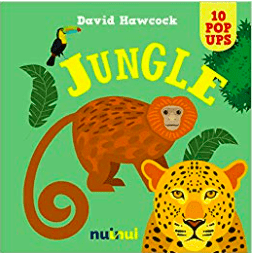 Nuinui Child NF 2 Plus 10 Pop Ups Jungle - David Hawcock