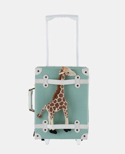 Olli Ella 18 Mths Plus See-Ya Suitcase - Mint