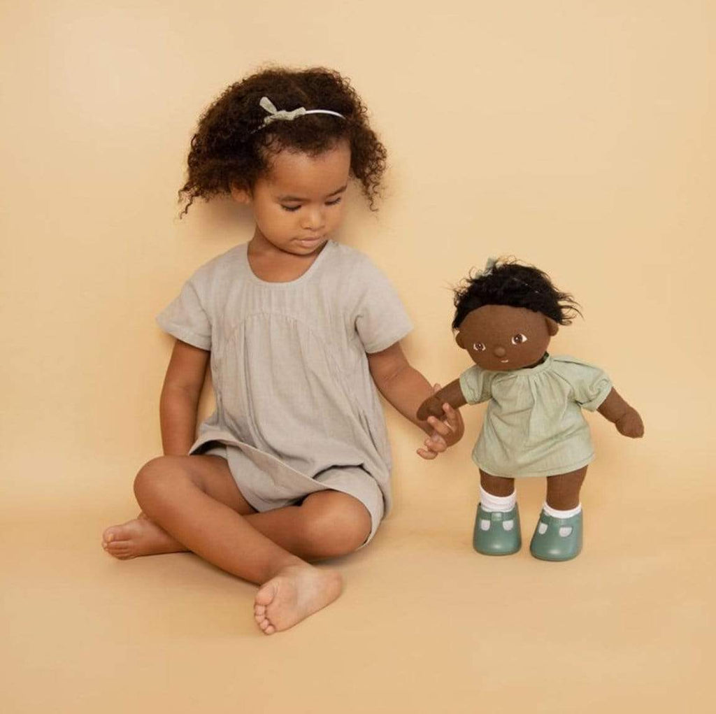 Olli Ella 3 Plus Dinkum Doll Travel Togs - Mint