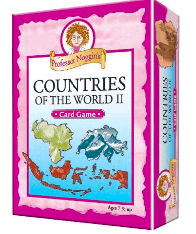 Outset 7 Plus Professor Noggin's Countries of the World