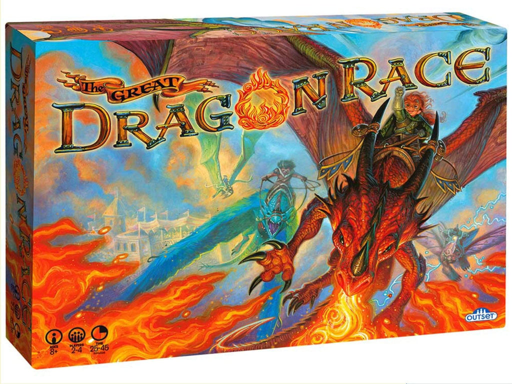 Outset Family Games The Great Dragon Race
