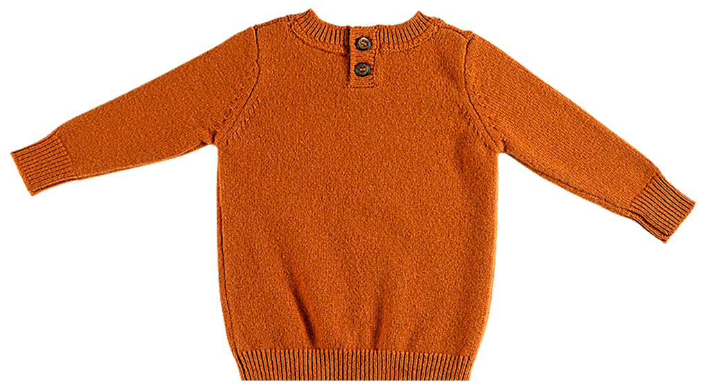 Pappe 0 to 3 Tucker Scottish Cashmere Sweater