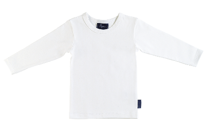 Pappe 0 to 3 White / 0 Putney Tshirt LS