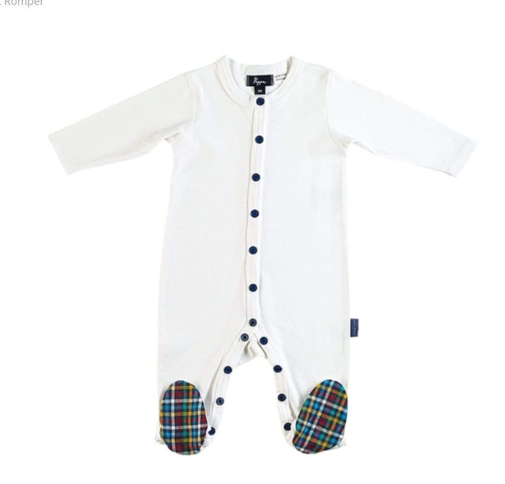 Pappe 000 to 1 000 / Nevis Nevis Footed Romper