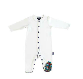 Pappe 000 to 1 Nevis Footed Romper
