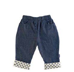 Pappe 1 to 3 White Check / 1 Chipper Jean