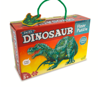 Peaceable Kingdom 3 Plus 51 Pc Floor Puzzle - Shiny Dinosaur