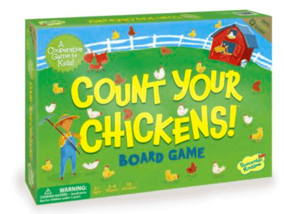 Peaceable Kingdom 3 Plus Count Your Chickens