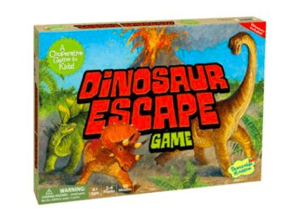 Peaceable Kingdom 4 Plus Dinosaur Escape