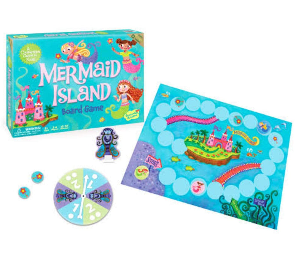 Peaceable Kingdom 5 Plus Mermaid Island Game