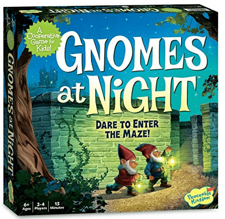 Peaceable Kingdom 6 Plus Gnomes at Night