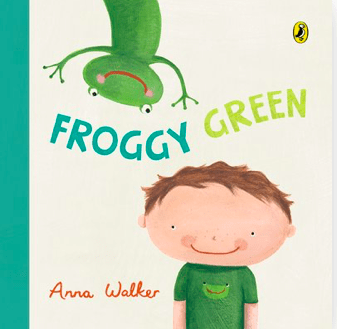 Penguin Birth Plus Froggy Green - Anna Walker