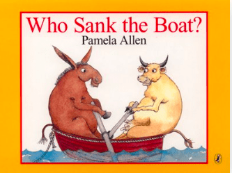 Penguin Birth Plus Who Sank the Boat?  BB- Pamela Allen
