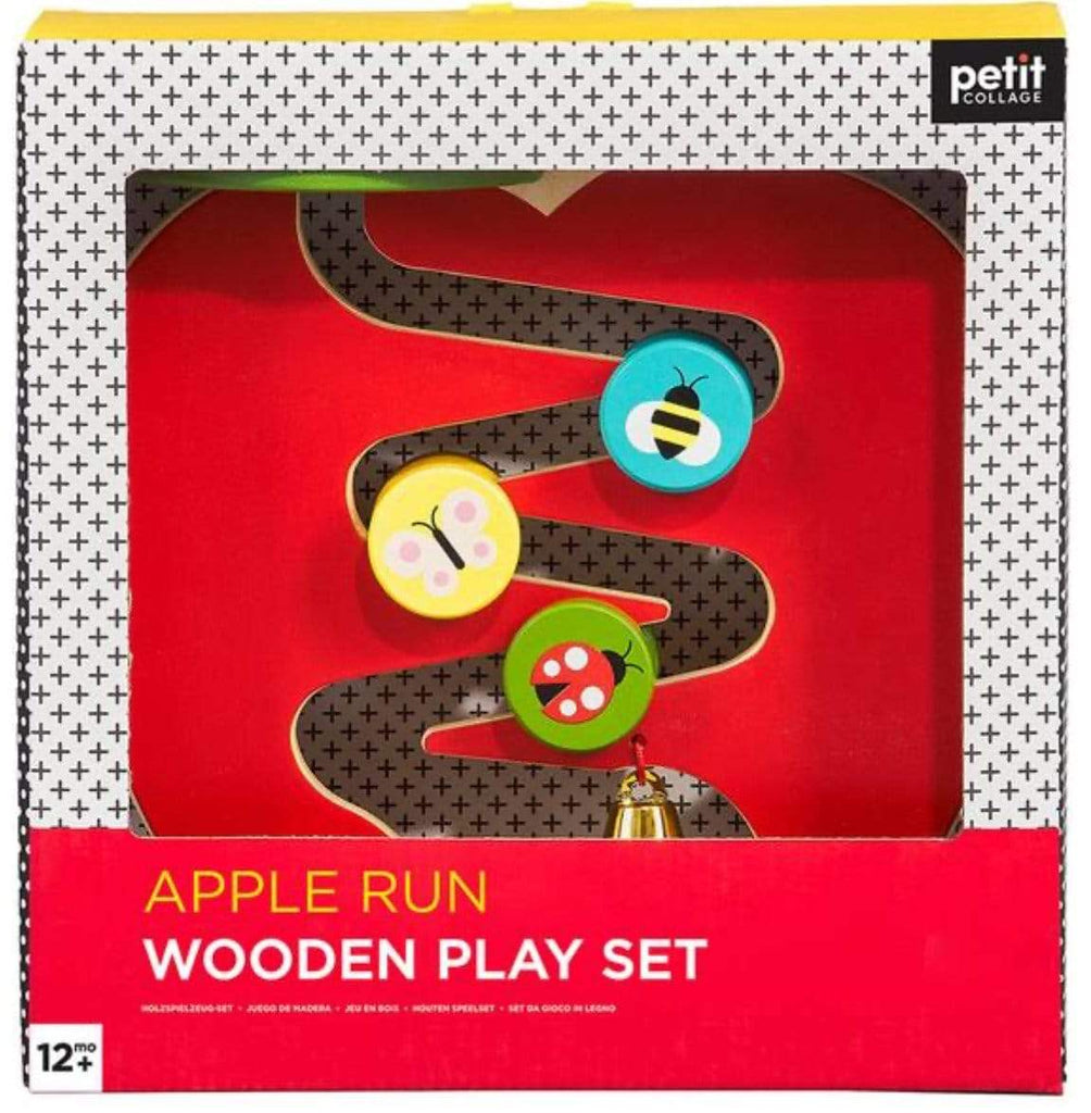 Petit Collage Wooden Play Set Apple Run